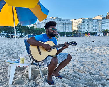Guitar Player at Copacabana