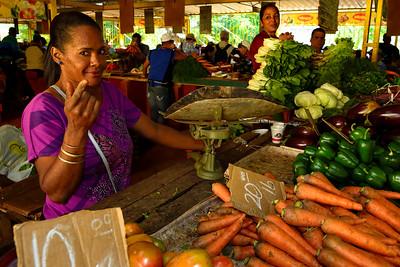 Agricultural Market in Vedado Havana
