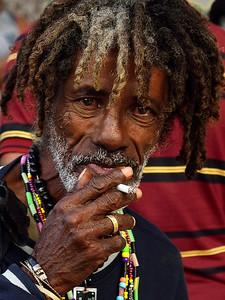 Face in a Street Fest, Old Havana