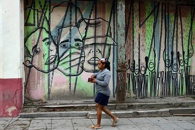 Street Mural 2, Old Havana