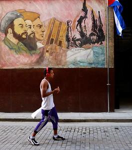Street Mural, Old Havana - M