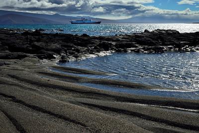 Punta Espinosa landscape - Fernandina