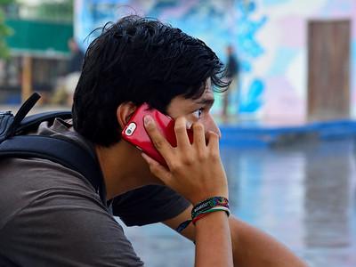 Phone Cal, Puerto Ayora - Santa Cruz