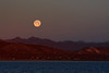 Moonrise at Full Moon - M