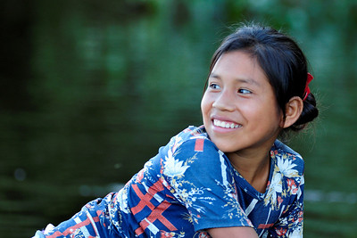 Young Woman, River People