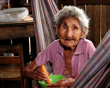 Old Woman of Sapuena Village, Peru