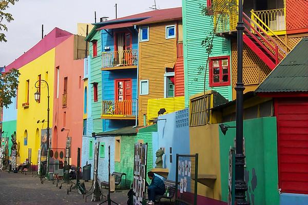 La Boca, Bueno Aires, Argentina, 1999