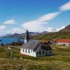 Grytviken, South Georgia Island in the South Atlantic Ocean.