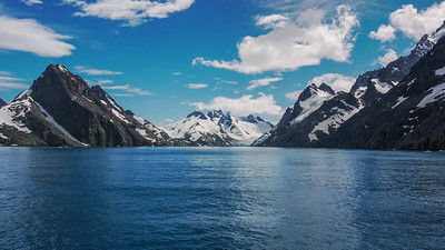 Drygalski Fjord, South Georgia Island, South Atlantic Ocean.