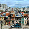 Here is another view of low cost housing in the city.
