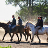 Other estancias, while offering horseback riding for guests, also have regularly scheduled events on site that demonstrate the unique skill of the estancia's gauchos. On these ranches, a visitor usually will see gauchos displaying their world-class horsemanship as they break a young horse or display showmanship of their considerable equestrian talents. Many of these incorporate other cultural aspects of ranch life, such as songs, dances and games, into group activities. Thanks to their innate appeal to many tourists, these specialized estancias are found primarily around Buenos Aires and Bariloche.