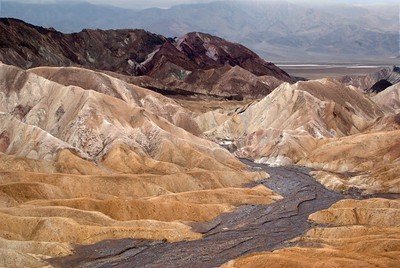 Zabriskie Point; Death Valley National Park, California