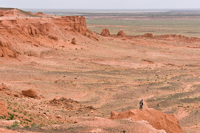 Flaming Cliffs, Gobi Desert, Mongolia