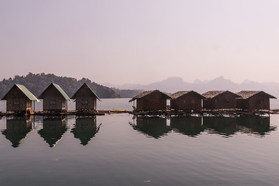 lake motel, Khao Sok National Park, Cheow Lan Lake, Thailand