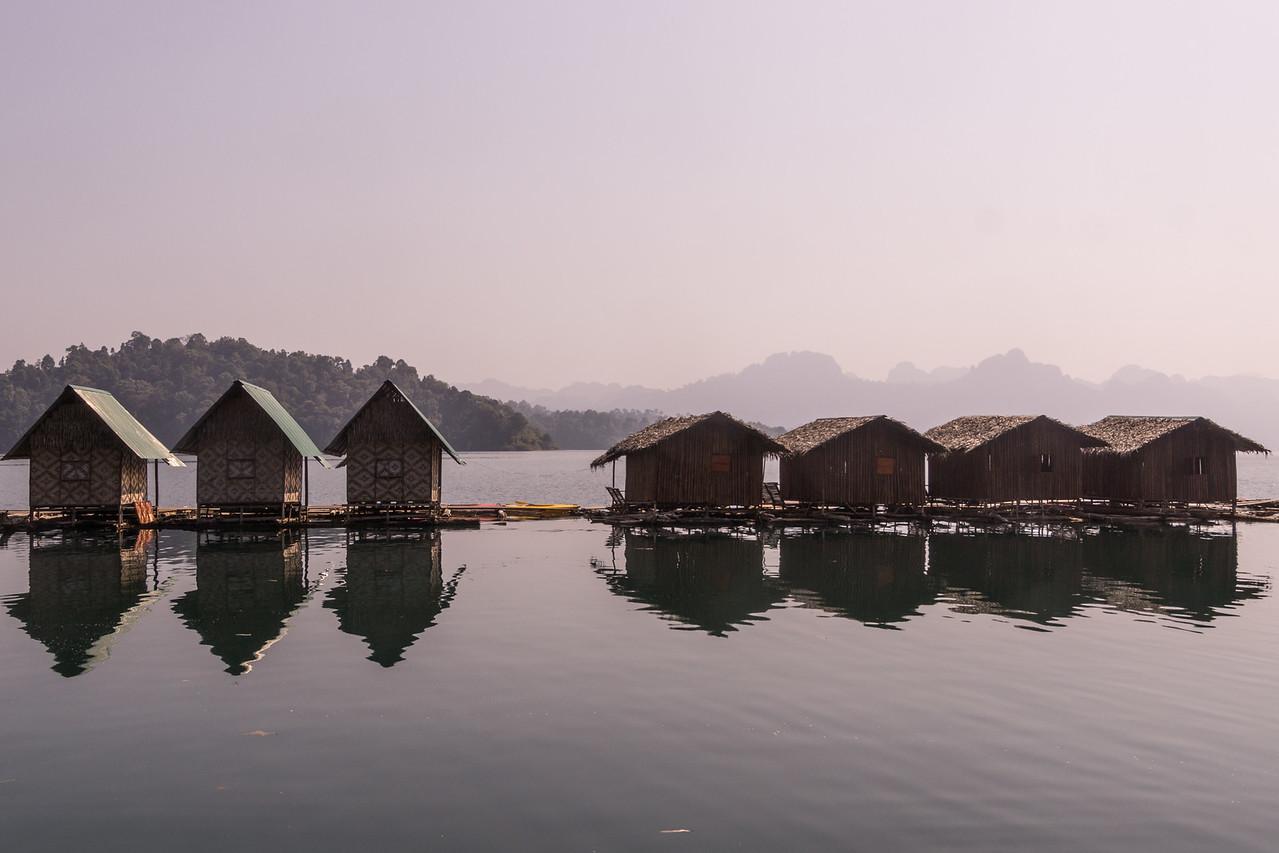 lake motel, Khao Sok National Park, Cheow Lan Lake, Thailand