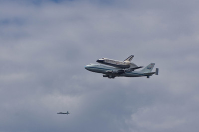 Space Shuttle Discovery Flyover, Washington, DC
