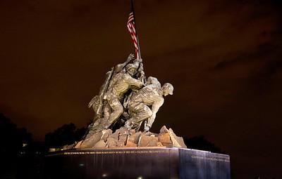 Iwo Jima Memorial, Arlington, Virginia