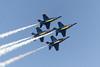 Blue Angels, over Mercer Island, Washington