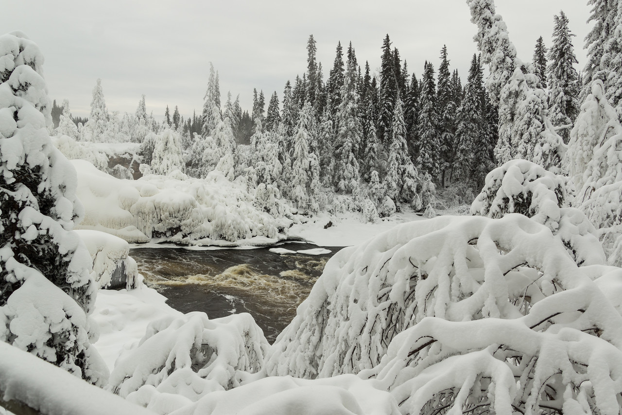Pisew Falls, Thompson, Manitoba, Canada