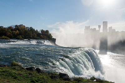 American Falls (looking toward Canada), Niagara State Park, New York