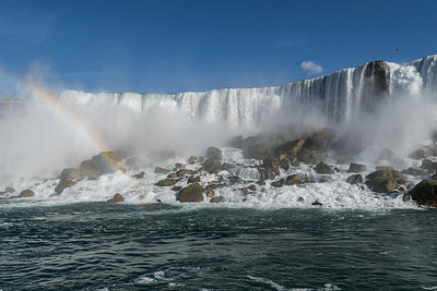 American Falls, from Maid of the Mist, Niagara River, New York