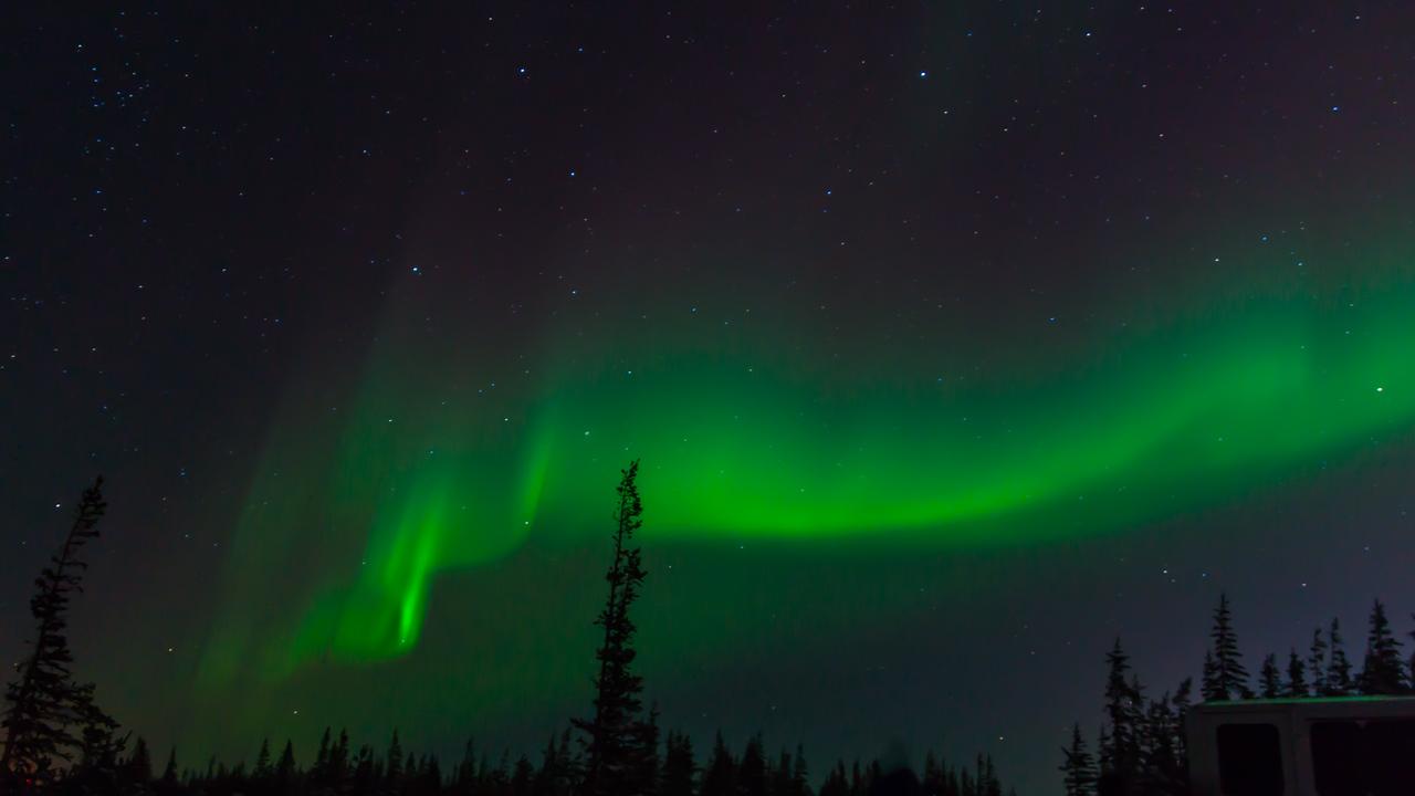 Northern Lights, Churchill, Manitoba, Canada