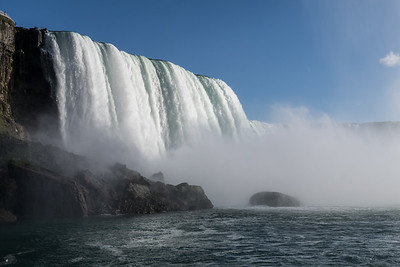 Horseshoe Falls, from Maid of the Mist, Niagara River, New York