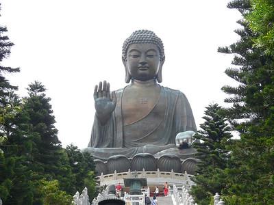 2009 Tian Tan Buddha and Po Lin Monastery, Lantau Island, Hong Kong