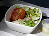 610 salad upper deck Hong Kong-SFO flight