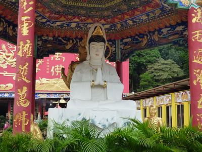 2015  10,000 Buddha Monastery, Hong Kong