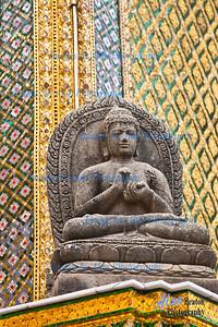 Phra Mondop, Buddha, Grand Palace, Bangkok, Thailand