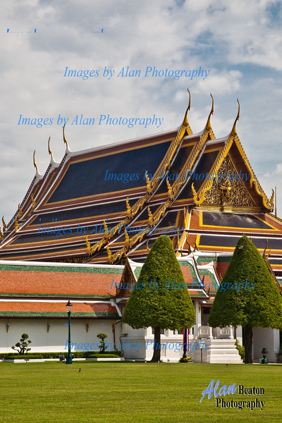 The Main Entrance to the Grand Palace