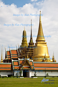 The Main Entrance to the Grand Palace, Bangkok, Thailand