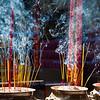 Incense burning sticks