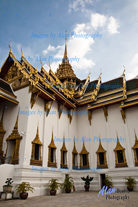 Dusit Maha Prasat Throne Hall, Grand Palace, Bangkok, Thailand