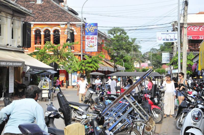 Siem Reap -  street scenes
