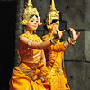 Aspara dance show in Siem Reap - a traditional Khmer performance of dance that dates back over a thousand years when it was popular to the Age of Angkor, when it was popular with Kings and commoners alike.