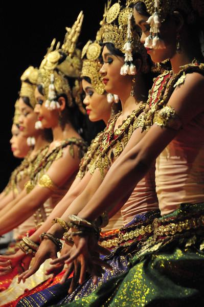 Aspara dance show in Siem Reap