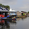 """Floating village"" during the Tonle Sap (or Great Lake) boat ride."