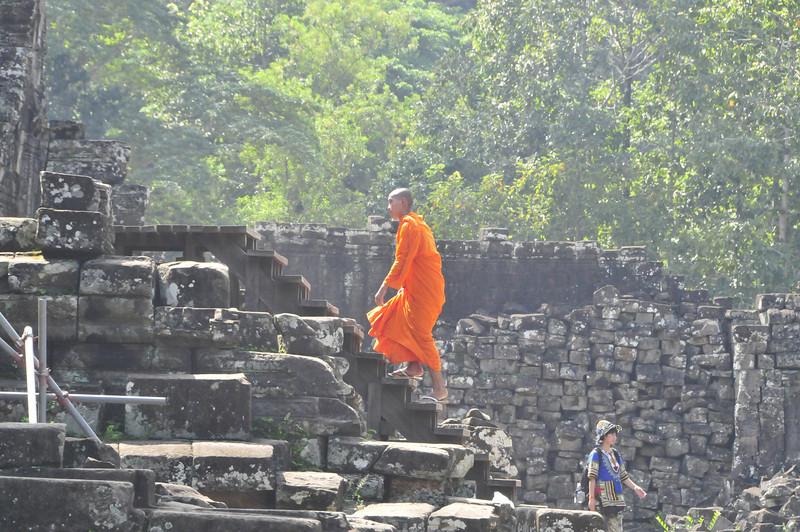 Angkor Thom, located near Siem Reap
