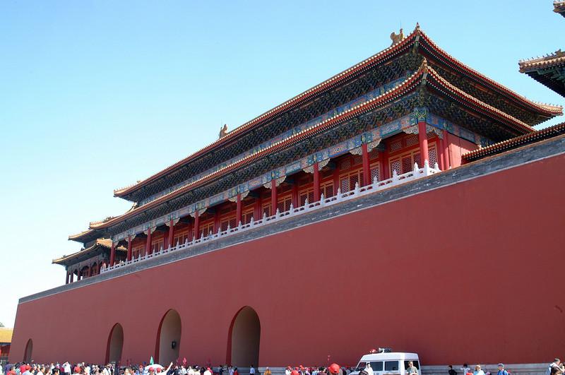 Tiananmen gate to the Forbidden City