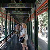 The Long Corridor  is a covered walkway in the Summer Palace. First erected in the middle of the 18th century, it is famous for its length (728 meter).
