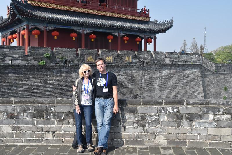 The Jingzhou City Wall