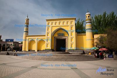 Id Kar Mosque, Kashgar