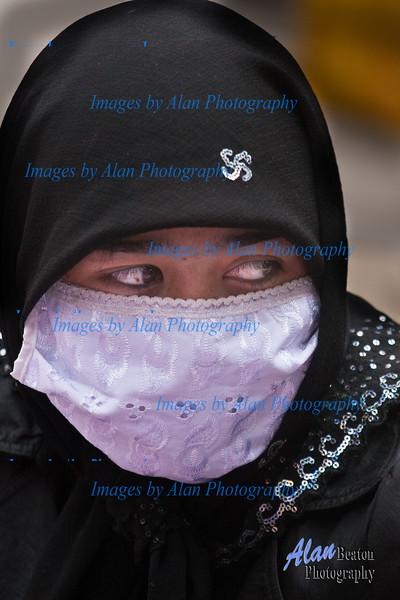 Young Girl, Kashgar Sunday Market