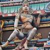 Colorful Vishnu Temple in Varanasi
