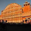 The beautiful pink city of Jaipur