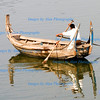 Crossing Lake Taungthaman