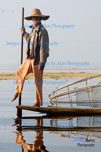 Fishing on Inle Lake