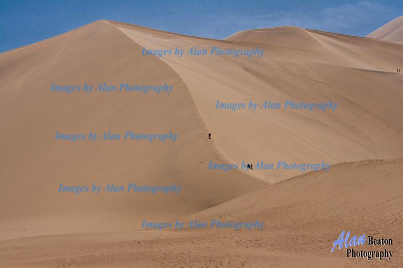 Singing Sands, Mingsha Hills, Dunhuang